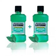 Listerine - colluttorio difesa denti e gengive 2 flaconi 250 ml + 250ml
