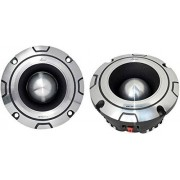 Lanzar OPTIBT44 Bullet Tweeter Optidrive Altavoces para automóvil (aluminio, 600 W, 8,9 x 13,3 x 13,3 cm), 1 Unidad, color plateado