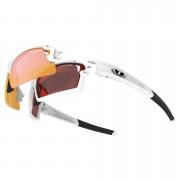 Tifosi Pro Escalate FH Interchangeable Sunglasses - Matte White/Clarion Red