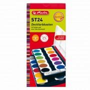 Acuarele 24 culori / set Herlitz 1019993/3