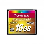 CF Card, 16GB, Transcend 1000X (TS16GCF1000)