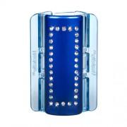 Linziclip Maxi Hair Clip Gumičky do vlasov pro ženy Skřipec do vlasů Odtieň - Blue Pearl Crystal
