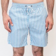 Mr.Swim Narrow Stripe Shorts Swimwear Blue MR-201-1