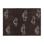 Lorena Canals C-COCH-11 Coches Brown Washable Rug, Marrone