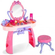 Kids Play Set Make Up Dresser 28 Piece - Pink