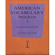 American Vocabulary Program: Upper Intermediate Program 3 by John Flower
