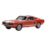 Shelby Mustang Gt500 - Red With White Stripes 1967 1:18 Model 72906