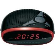 Ébresztőórás rádió Led kijelzővel piros színű ICR-200