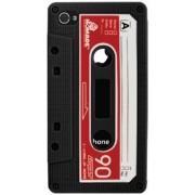 Husa Blautel BLTFSRCAN pentru iPhone 4/4s silicon Retro (Negru)
