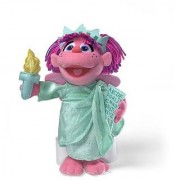 Gund Sesame Street 13 Abby Cadabby Statue Of Liberty Plush Doll