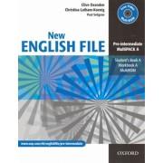 New English File Pre-Intermediate MultiPack A()