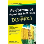 Performance Appraisals & Phrases for Dummies by Ken Lloyd