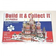 St. Basil's Cathedral Moscow Russia 192-Piece 3D Jigsaw Puzzle