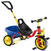 Tricicleta copii Rosu Galben Albastru - PUKY
