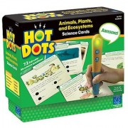 Educational Insights Hot Dots Science Set- Animals Plants and Ecosystems