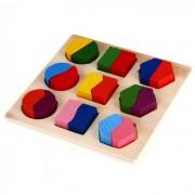 Wooden Puzzle Jigsaw Shape for Preschool Kids Childhood Education