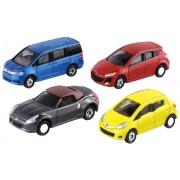 Tomica - Lets Play City Parking - 4 Cars Set (japan import)