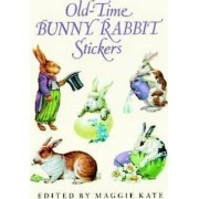 Old-Time Bunny Rabbit Stickers by Maggie Kate