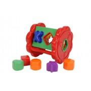Simba Toys 104014559 - ABC, Ruota con mattoncini da infilare