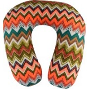 Magasin Geometric Travel Pillow Pack of 1(Multicolor)