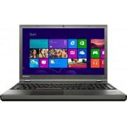 "Laptop Lenovo ThinkPad T540P (Procesor Intel® Core™ i3-4000M (3M Cache, 2.40 GHz), Haswell, 15.6"", 4GB, 500GB @7200rpm, Intel HD Graphics 4600, USB 3.0, Tastatura iluminata, FPR, Win7 Pro 64+Upgrade la Win8 Pro 64)"