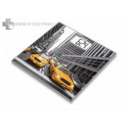 Beurer GS 203 New York üvegmérleg 5 év garanciával