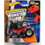 Hot Wheels Monster Jam 1:64 Scale - Bone Shaker with Stunt Ramp #26 by Hot Wheels