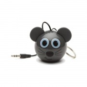 Boxa portabila KitSound Mini Buddy Mouse 2W grey