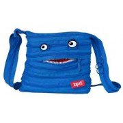 Geanta de umar Monsters Mini ZIP...IT - albastru royal