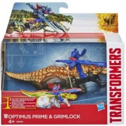 Transformers 4 Age of Extinction Dino Sparkers Optimus Prime si Grimlock