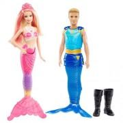 Barbie - Pareja Barbie y Ken Princesa de las Perlas