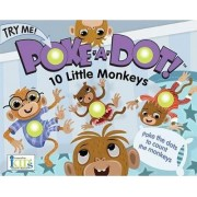 Poke-A-Dot! 10 Little Monkeys by Lucy Schultz