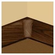PBY605.267-S4 - Set 4 bucati piese colt interior culoare cires maroniu pentru plinta PBC605