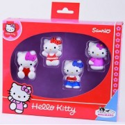 Hello Kitty - set 4 figurine