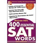 McGraw-Hill's 400 Essential SAT Words by Denise Pivarnik-Nova