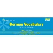 German Vocabulary SparkNotes Study Cards by Sparknotes