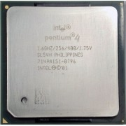 Procesor Intel P4 SL5VH 1.60 GHz, 256K Cache, 400 MHz FSB Socket 478