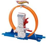 Hot Wheels Track Builder Deluxe Quick Kick Loop Stunt Set