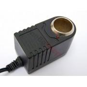 Адаптер 220 волта -12 волта във вид на автомобилна запалка