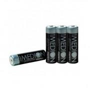 Maha Powerex Imedion MHRAAI4 set 4 acumulatori AA Ni-Mh 2400mAh