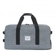 Cestovní taška Herschel Outfitter šedá