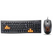 Kit tastatura Segotep si Mouse VKM1100 (Negru)