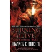 Burning Alive by Shannon K Butcher