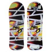 Skate Radical Iniciante Sting Wasp Skateboard Shape 76x24 Bel Sports - 401900