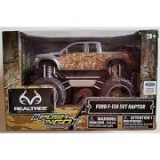 RealTree Camo Orange Ford F-150 SVT Raptor Friction Push N Go Truck