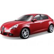 Bburago - Coche de juguete Alfa Romeo Giulietta, escala 1/24, color rojo (18-22128)