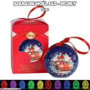 Boule de Noël LED multicolore Disney - Cars