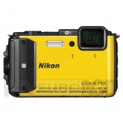 Nikon Coolpix AW130 (żółty) - Raty 20 x 58,95 zł- dostępne w sklepach