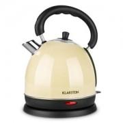 KLARSTEIN TEATIME чайник 3000 W 1.8 литра неръждаема стомана кремав
