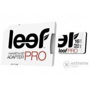Card memorie Leef microSDHC cu adaptor SD, 16GB